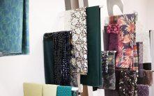 Stoffproben St. Galler Textilbetriebe