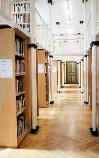Bibliothek - Textilmuseum St. Gallen