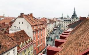 Graz von oben - Freiblick