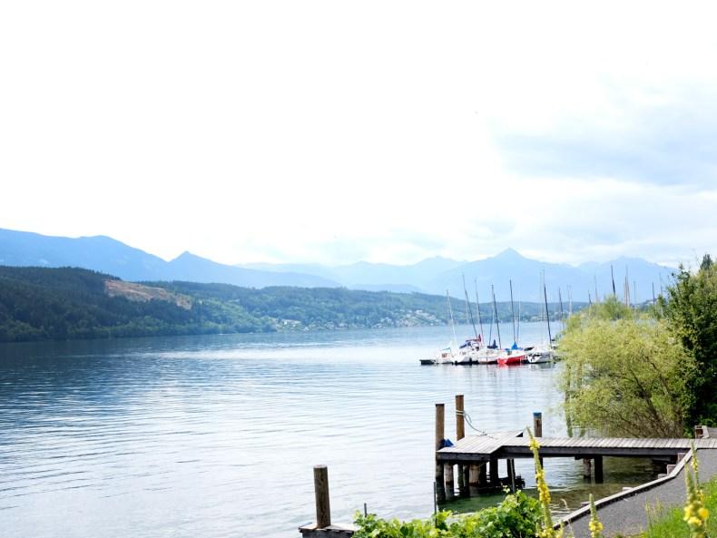 Blick über den Millstätter See