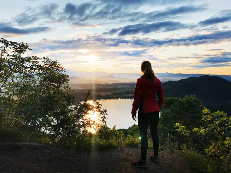 Sonnenaufgang am Klopeinersee