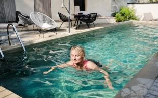 Pool im Casa Castello