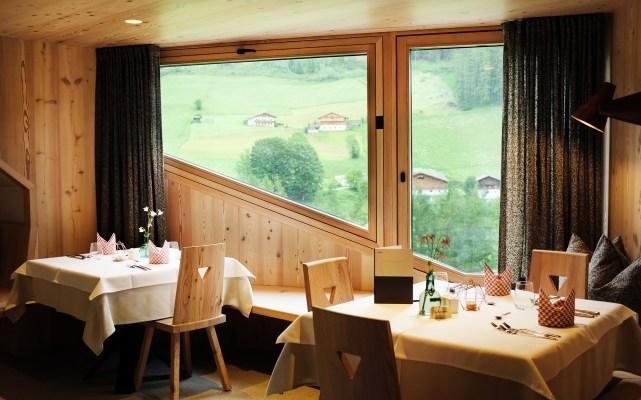 Essecke mit Panoramafenster