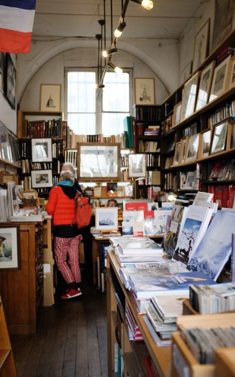 Die Librairie des Alpes in Paris
