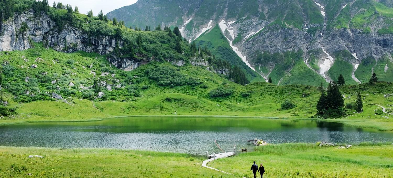 Körbersee in Vorarlberg