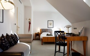 Rooftopzimmer im Parkhotel Laurin