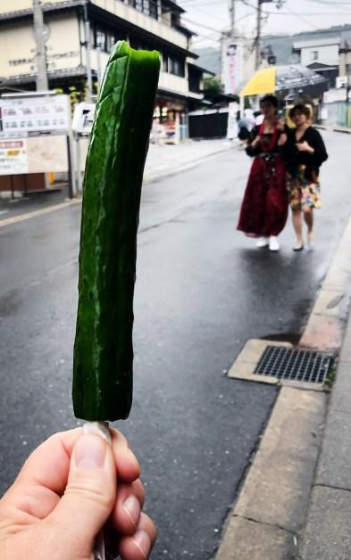 Marinierte Gurken - Tsukemono