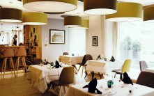 Restaurant im Hotel Tofana in St. Kassian