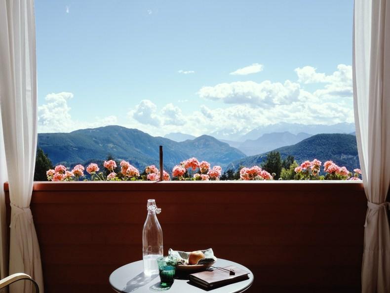 Berghoferin - Blick vom Balkon