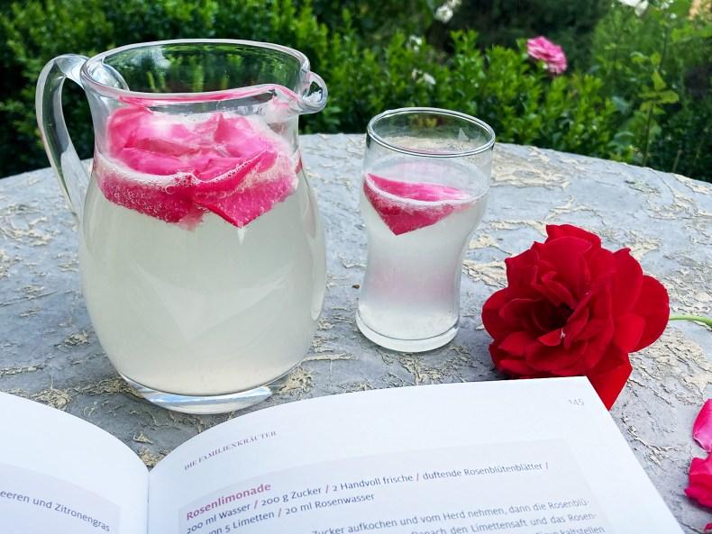 Rezept für Rosenlimonade