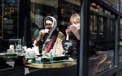 Straßencafé in Saint Germain