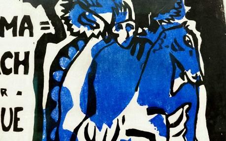 Bildausschnitt: Almanach Blauer Reiter im Lenbachhaus