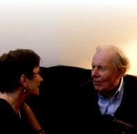 Kathleen with Thomas Berry