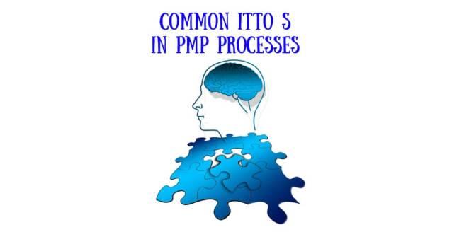 Common ITTO S in PMP Processes