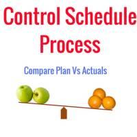 Control Schedule Process