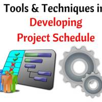 Project scheduling tools and techniques