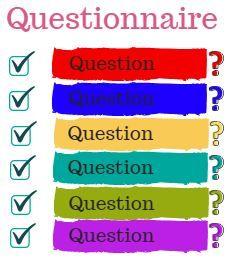 Questionnaire - Requirements Gathering Techniques