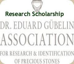 Dr. Eduard Gubelin Research Scholarship in Switzerland 2015