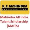 Mahindra All India Talent Scholarship-MAITS 2020