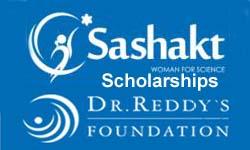 Sashakt Scholarship For Girls Offered By Dr Reddy's Foundation 2021