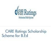 CARE Ratings Scholarship Scheme for B.Ed 2020-2021