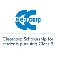 Clearcorp Scholarship for students pursuing Class 9