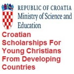 Croatian Scholarships For Young Christians From Developing Countries