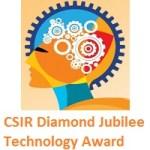 CSIR Diamond Jubilee Technology Award (CDJTA) 2020