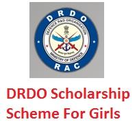 DRDO Scholarship Scheme for Girls