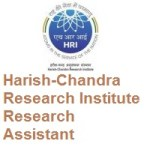 Harish-Chandra Research Institute Research Assistant