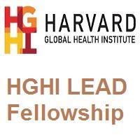 Harvard Global Health Institute LEAD Fellowship