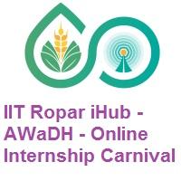IIT Ropar iHub - AWaDH Online Internship Carnival