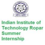 Indian Institute of Technology Ropar Summer Internship