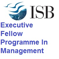 Indian School of Business Executive Fellow Programme In Management