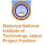 Malaviya National Institute of Technology Jaipur Project Position