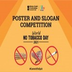 Poster Making and Slogan Writing Competition on the occasion of World No Tobacco Day 2021