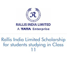 Rallis India Limited Scholarship for students studying in Class 11