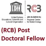 Regional Centre for Biotechnology (RCB) Post Doctoral Fellow
