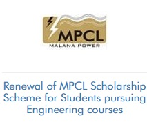 Renewal of MPCL Scholarship Scheme for Students pursuing Engineering courses