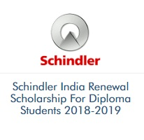 Schindler India Renewal Scholarship For Diploma Students