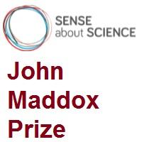 Sense About Science John Maddox Prize