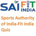 Sports Authority of India-Fit India Quiz