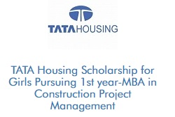 TATA Housing Scholarship for Girls Studying MBA