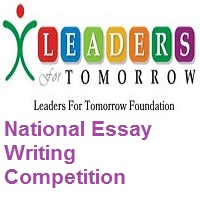 The Leaders For Tomorrow National Essay Writing Competition