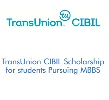 TransUnion CIBIL Scholarship for students Pursuing MBBS