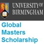 University of Birmingham Global Masters Scholarship