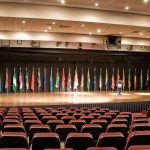 Girne American University lecture hall