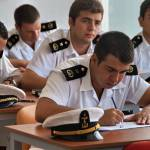 University of Kyrenia maritime students in class