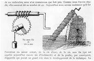 Work: Archimedes screw