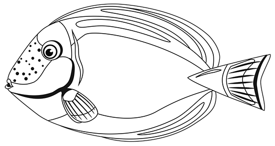 Fish 3 (b/w)